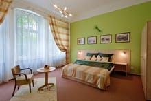 Franzensbad - Kurhotel Metropol - Zimmerbeispiel Doppelzimmer Komfort, Copyright: Bad Franzensbad AG
