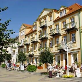 Franzensbad - Kurhaus Goethe - Aussenansicht, Copyright: Bad Franzensbad AG