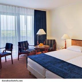 Ein Zimmer im Danubius Health Spa - Kur in Ungarn, Copyright: Danubius Health Spa Resort Bük