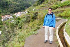 Levada-Wanderung, Madeira
