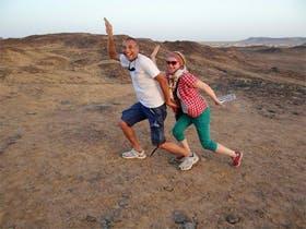 Aegypten - Bahariaya Oase - Englischer Berg mit Tour-Manager Awad