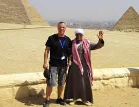 An der Hand eines Pharaonen...