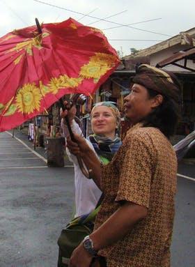 Asien - Bali - mit Bawa unserem oertlichen Reiseleiter