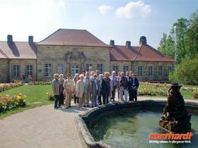 Gruppenbild Stammkundenreise Bayreuth