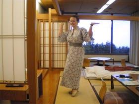 Kimono-Pflicht im Ryokan in Japan