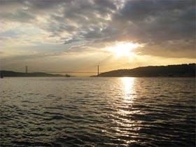Sonnenuntergang auf dem Bosporus
