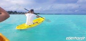 Jacob Spangenberg auf Bora Bora