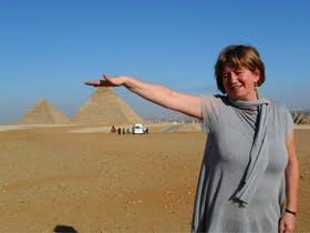 Aegypten - Pyramiden von Gizeh