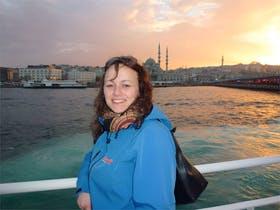 Bosporusschiffahrt in Istanbul
