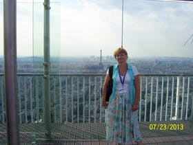 Blick vom Turm Montparnasse