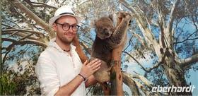 Jacob Spangenberg in Australien