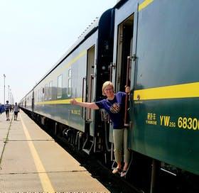 Transmongolische Eisenbahn!