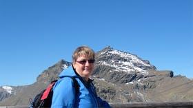 Schweiz vor dem Schilthorn
