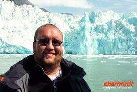 Alaska - Sawyer Gletscher und ich