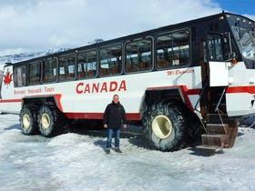 Kanada - Auf dem Columbia Icefield