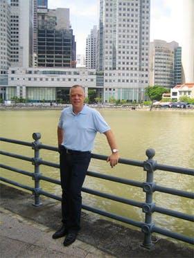 Singapur - Am Boat Quay
