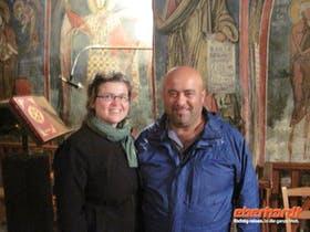 2010 im Troodosgebirge mit unserem oertl. Wanderleiter Antonis