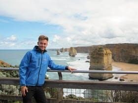 Jacob Spangenberg an den 12 Aposteln in Australien