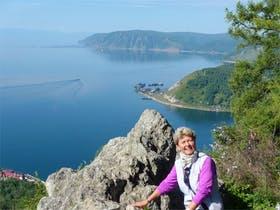 Russland-Baikalsee