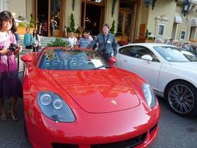Dominik Zilliken am Casino von Monte Carlo