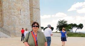 Am Castel del Monte in Apulien