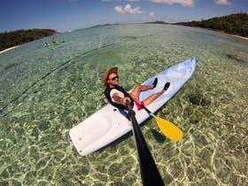 Jacob Spangenberg auf den Seychellen