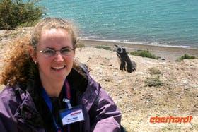 An der Pinguinkolonie auf der Halbinsel Valdes