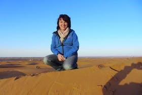 Auf den Dünen in Marokko