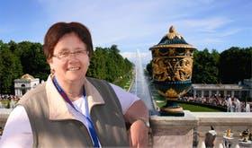 In Peterhof vor den Toren St. Petersburgs