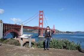 vor der Golden Gate Bridge in San Francisco 2011