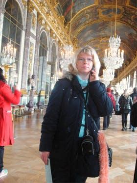 im Spiegelsaal von Schloss Versaille