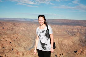am Fish River Canyon in Namibia 2011