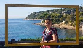 Am Cap Ferrat an der Cote d'Azur