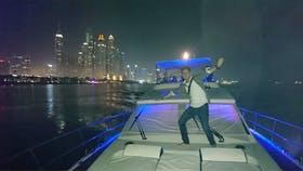 Yachtausflug durch die Dubai Marina