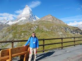 Zermatt vor dem Matterhorn