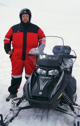 Island - Schneemobilfahrt Vatnajoekull