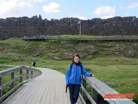 Reisebegleitung Madlen in Thingvellir