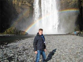 Jacob Spangenberg auf Island