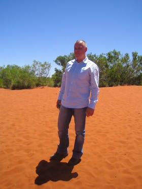 Allein im Outback