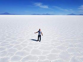 Uyuni Salzsee Bolivien