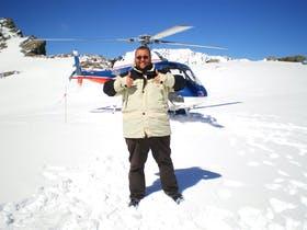 Neuseeland - Helikopterflug