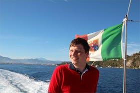 Sizilien im Hintergrund / 2012