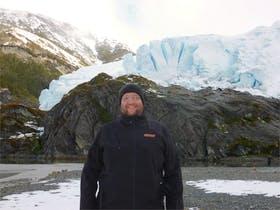 Aguila-Gletscher (Chile)