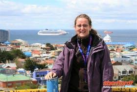 Kristin in Punta Arenas