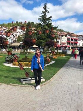 Ohrid in Mazedonien