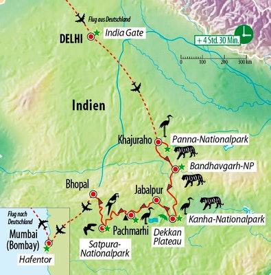 Naturreise Indien