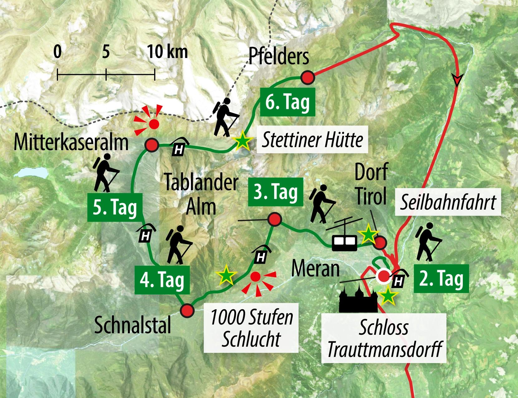 Karte Norwegen D303244nemark.Karte Meraner Hohenweg Pdf