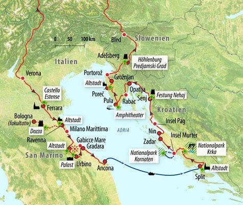 Fähre Von Italien Nach Kroatien