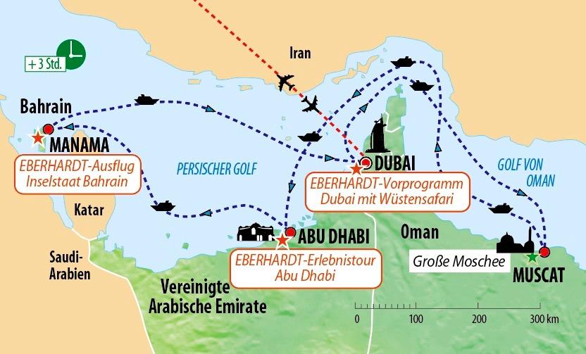 Karte Oman Kostenlos.Kreuzfahrt Orient Und Dubai Mit Aida