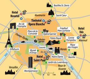 Ihre Ortskarte, Copyright: Eberhardt TRAVEL